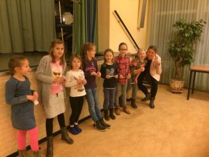 Reepetitieavond Kinderkoor Give us Peace
