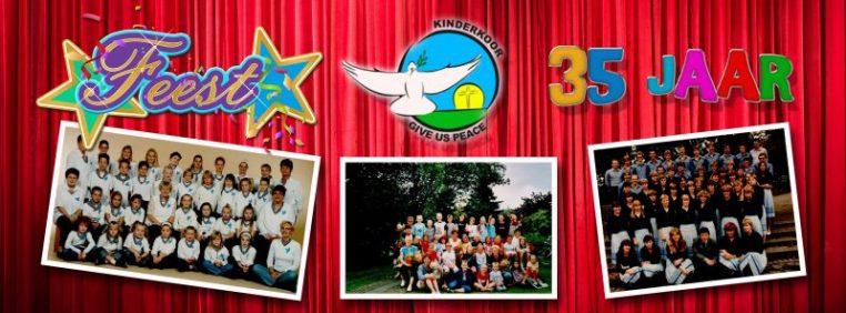 Door de jaren heen | Kinderkoor Give us Peace