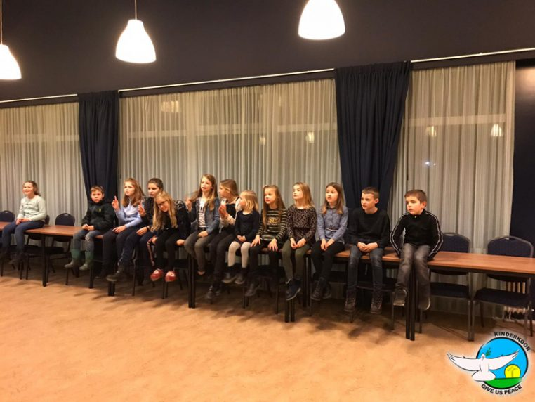 Kinderkoor Give us Peace Woensdag Repetitie tweestemmig