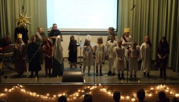 Kerstfeest 2018 - Kinderkoor Give us Peace