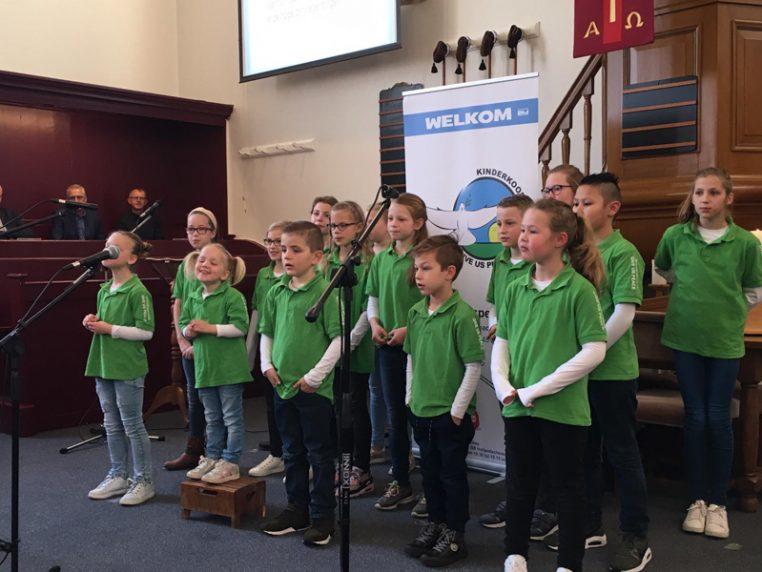 Optreden Hervormde Kerk Hollandscheveld | Kinderkoor Give us Peace
